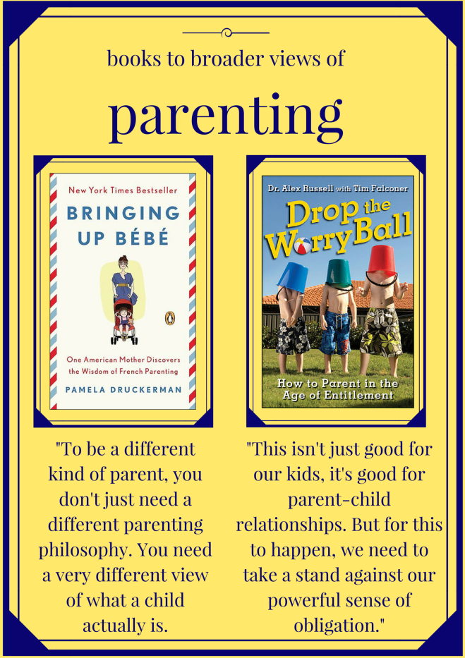 books to broader views of parenting