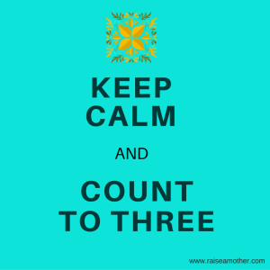 KEEP CALM and COUNT TO THREE img